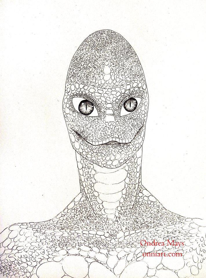 Reptilian by Ondrea Mays