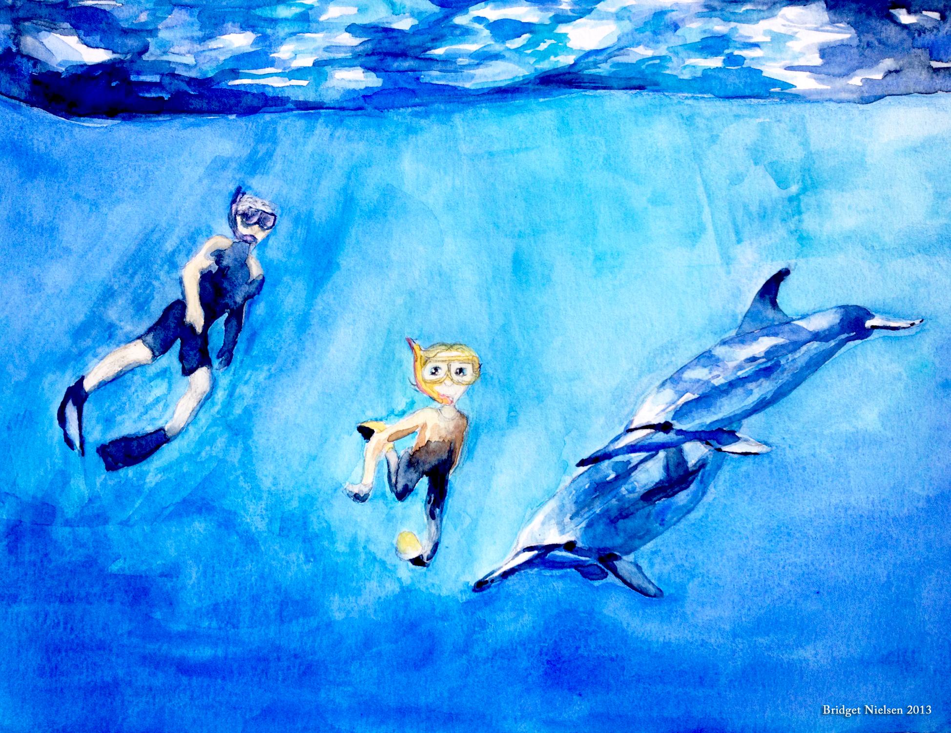 Phin, The Cetacean Hybrid Ambassador