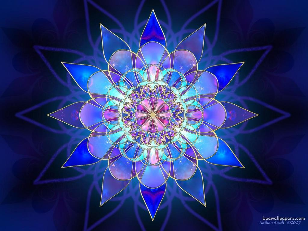 BlueFlowerFractal