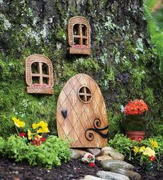 darling miniature elf house