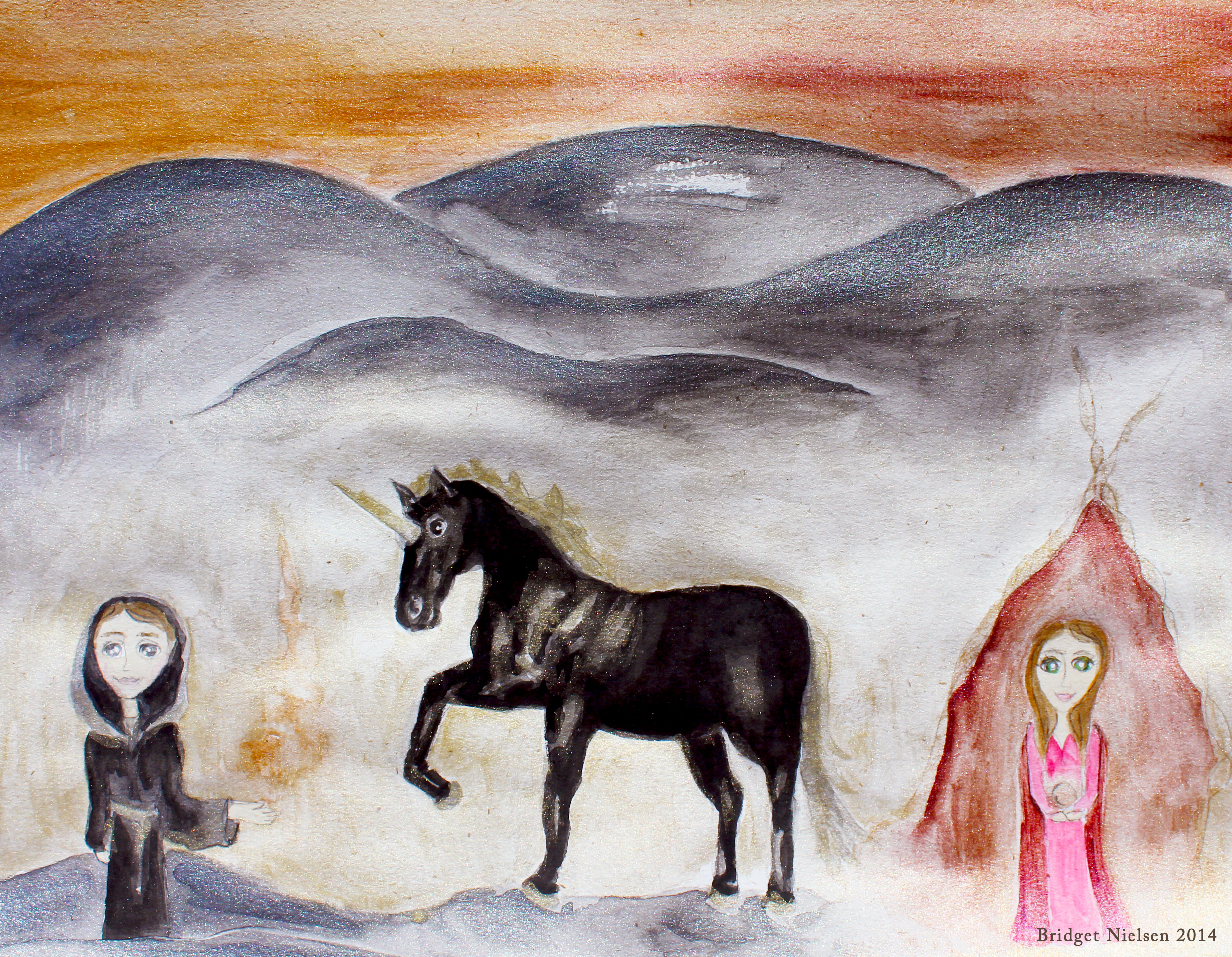 Hybrid Children of The Black Unicorn & Crystal Scrying