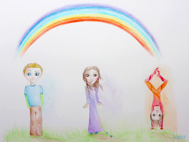 Rainbow Hybrid Children